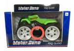 Motor Zone  Freewheeling -  BIG QUAD BIKE With Sounds - Green - NEW
